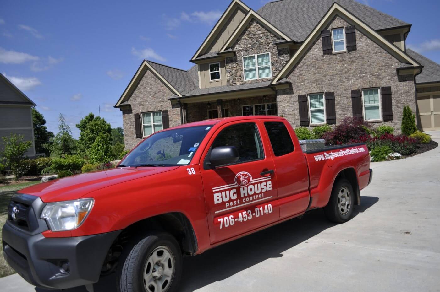 Augusta pest control truck