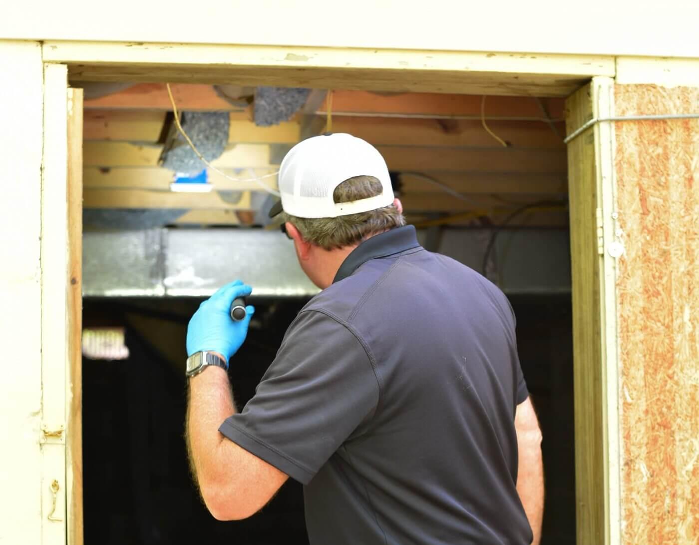 Augusta pest control worker